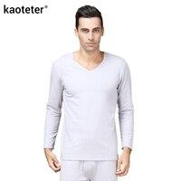100 Silk Brushed Liner Men S Warm Long Johns Men Thermal Underwear Sets Male Warm Thicken