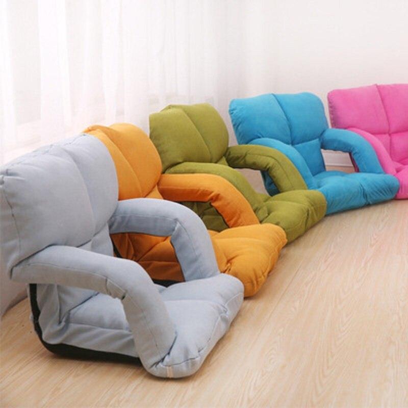 Haute qualité multifonction accoudoir paresseux canapé Tatami coussin de sol tapis dossier coussin chaise pliante