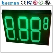 leeman outdoor displays gas stations signs/gas station led price sign/digital gas price sign