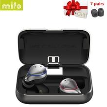 Оригинальный Mifo O5 беспроводной Bluetooth 5,0 наушники iPX7 водонепроницаемый hi fi стерео балансный наушники с усилением Vs i10 i12 СПЦ динамик