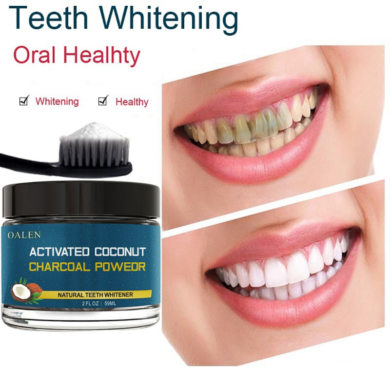 Coconut Shells Carbon Teeth Whitening Organic Natural Bamboo Charcoal Toothpaste Teeth Whitening Powder 4