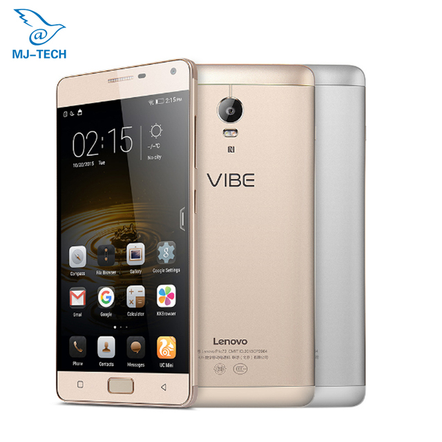 Original Lenovo Vibe P1 5000mah MSM8939 Octa core Android 6.0 OS 16G 5.5 inch 1920x1080 Smart cellphone