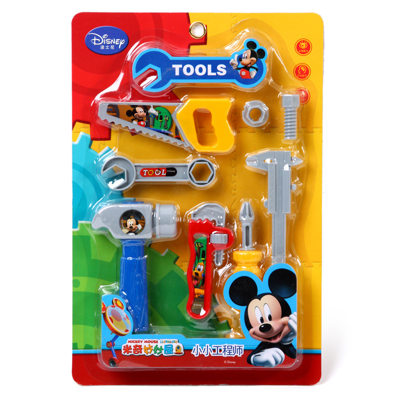 Disney authorized merchandise Mickey Series small engineer trumpet board gift for children