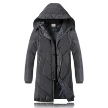 2016 winter new style Men's casual fashion high quality hooded jacket hooded thick Parkas Men's Winter jackets, Free shipping