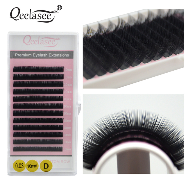 ab399e7da88 All Size 10 Trays Wholesale Volume Lashes Extension 3D Mink False Eyelashes  Individual Eyelash Beauty Brand Factory Supplies