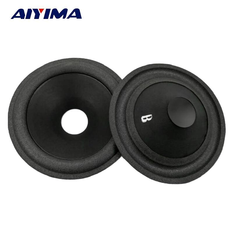 Aiyima 5pcs 5 inch speaker paper basin foam 5