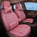 Conjunto completo Cubierta Del Asiento Del Coche Protector de Ajuste Personalizado para Citroen C4 Aircross Asiento Cubiertas y Ayudas de Set de Accesorios de Coche de Lino cojines