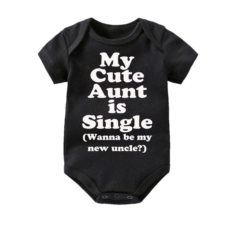 I Get Good Looks From My Auntie Aunt Boys Girls Baby Babygrow  0-18 Months