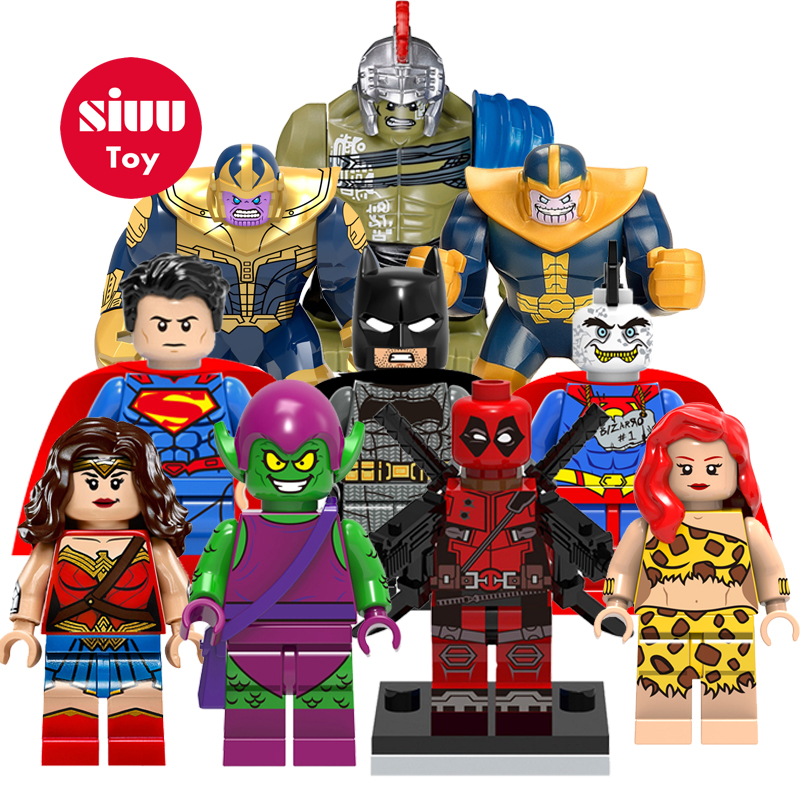 Hot Sale legoing Mavel Bricks building blocks Super Heros Superman Batman model Figures Compatible with legoINGly Toys JZ25 legoelied star wars super heros marvel dc minifigures darth revan yoda deadpool batman v superman figures building blocks toys