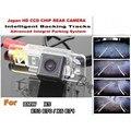 Para BMW X5 E53 E70/E71 X6 Carro Caminho Dinâmico/HD CCD de Visão Noturna Traseira Do Carro/Carro/Câmera Reversa/