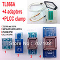 TL866a programmer +4 adapters Russian English manual High speed TL866 PLCC AVR PIC Bios 51 MCU Flash EPROM Programmer
