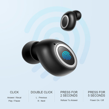 Wireless Touch Earbud Headphones