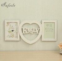 SUFEILE Nova Foto combinação quadro da foto da parede quadro Amor criativo & estilo Da Família da foto da parede para 6 polegada fotos SI11D15