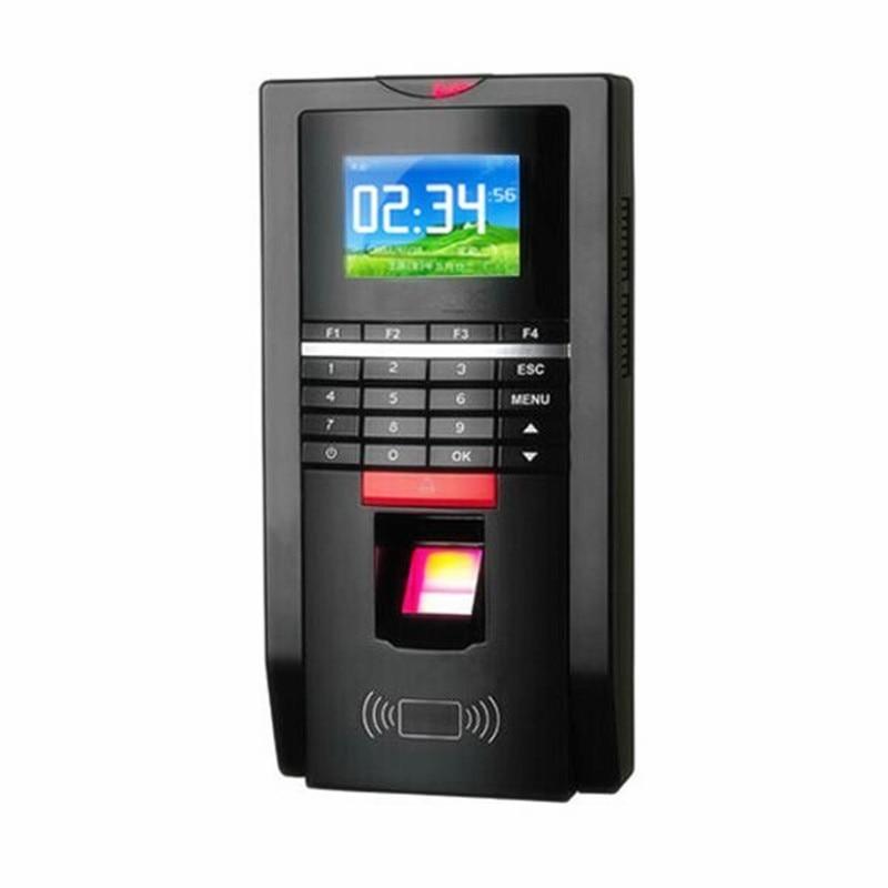Tempo di impronte digitali Presenze TCP/IP Tempo Registratore di 125 khz Rfid Terminale di Controllo di Accesso Wiegand MF131 Supporto di Lingua SpagnolaTempo di impronte digitali Presenze TCP/IP Tempo Registratore di 125 khz Rfid Terminale di Controllo di Accesso Wiegand MF131 Supporto di Lingua Spagnola