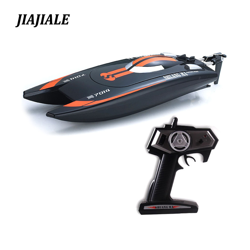 free shipping Double Horse DH7014 2.4G speed rowing boat remote radio control servo Speedboat with Super water cooled motor все цены