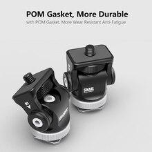 Vlogger V1.2 видео монитор Горячий башмак крепление, камера монитор держатель с холодным башмаком для микрофона светодиодный видео свет DSLR установка клеть