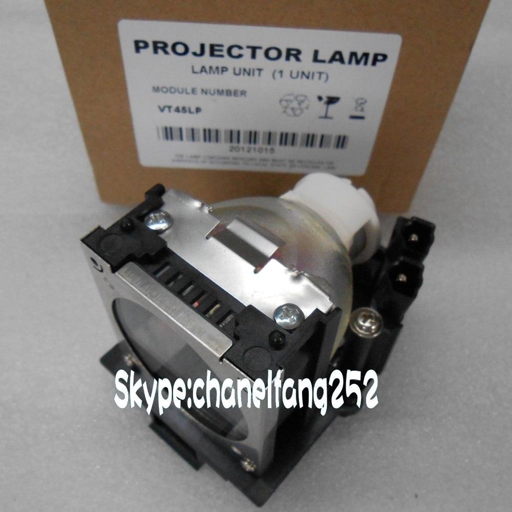 VT45LP Projector Lamp With Housing for NEC DT136 /VT45K/VT45KG/VT45L Projector free shipping original projector lamp module vt45lp vt45lpk for ne c vt45k vt45kg vt45l