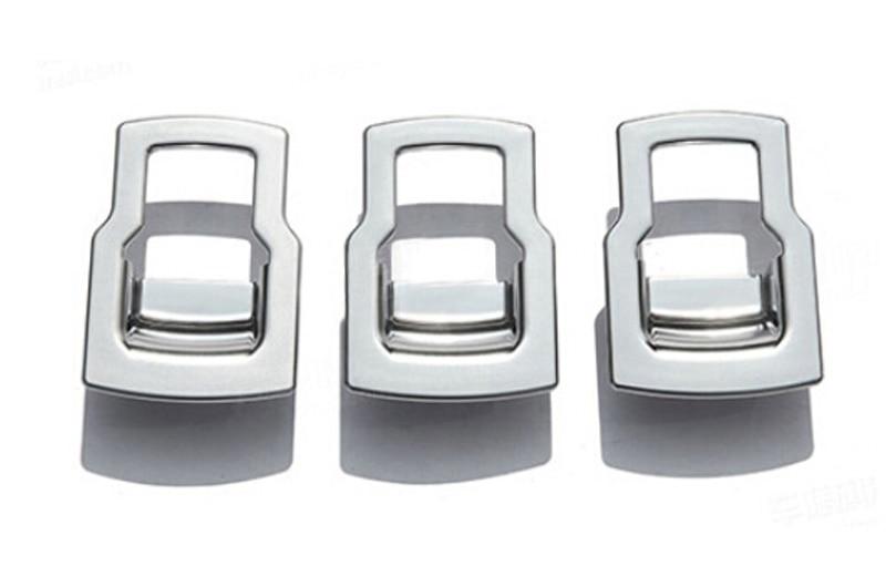Window Lift Button adornment trim 3PCS For Land Rover LR4 Discovery 4 2010 2011 2012 2013 2014 2015 window visor rain sun deflector shade guards 4pcs for land rover discovery 4 lr4 2015 2014 2013 2012 2011 2010