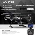 JXD 509G JXD509G RC Quadcopter Drone 5.8G FPV con Una Sola Tecla de retorno y Despegar Helicóptero Del Rc con HD de 2.0MP Monitor RTF Aviones No Tripulados