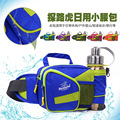 Unisex casual small travel bags cool men and women water bottle bag nylon waterproof waist bags