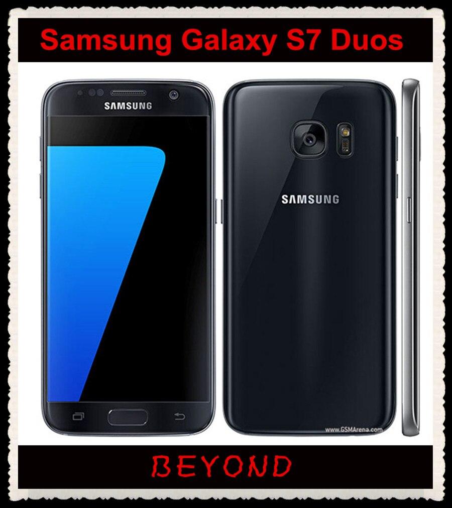 samsung galaxy s7 duos g930fd dual sim original unlocked 4g lte gsm android phone octa core 5 1. Black Bedroom Furniture Sets. Home Design Ideas