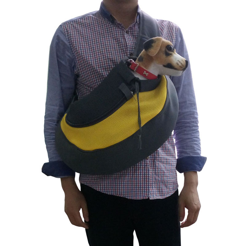 Pet Carrier Cat Puppy Small Animal Dog Carrier Sling Front Mesh Travel Tote Shoulder Bag Backpack Dog Accessories 3