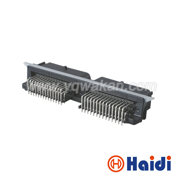 Free shipping 1set FCI auto 56pin male PCB plug 56p ECU cable wiring harness connector 211PL562L0011
