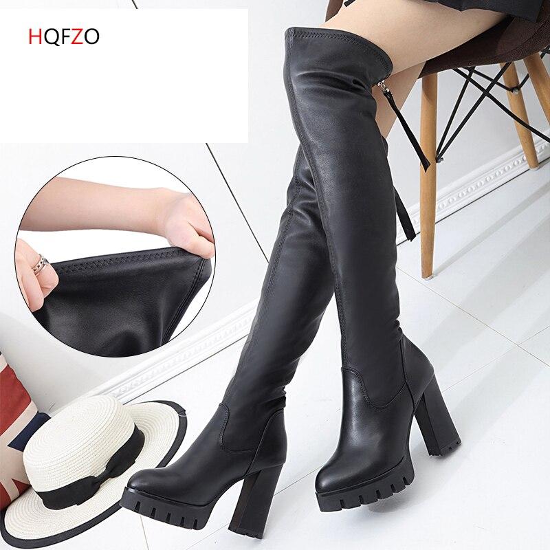 8c425653ae9 NORMOV S-5XL Frauen Faux Leder Leggings Winter Warm Halten Hohe Taille  Jegging Ankle-