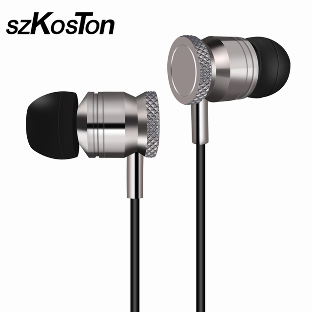 3.5mm In-Ear Sport Earphones Running Profession Waterproof Headsets Stereo Super Clear Headset for iPhone Mobile Phone MP3