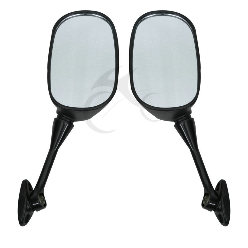 Pair Rearview Mirror side mirrors For HONDA CBR 600 RR 2003-2018 09 10 11 CBR1000RR 2004-2007 Motorcycle Accessories Motorbike 5mm m5 motorcycle accessories rubber well nuts for honda nc750x cbr 600 rr cb1000r cbr1000rr crf 450 yamaha xmax 300 ktm duke