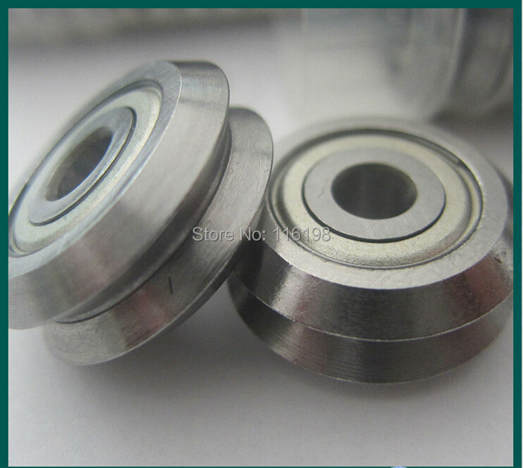 1pcs W4ZZ track roller bearing 15mm Bore RM4-2ZZ W4-2Z V Groove Guide Bearings 15x59.94x19.05mm mochu 23134 23134ca 23134ca w33 170x280x88 3003734 3053734hk spherical roller bearings self aligning cylindrical bore