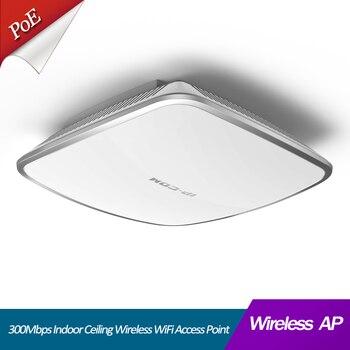 300Mbps Indoor Ceiling Wireless WiFi Access Point AP Support wireless controler, enterpriser wireless management 1
