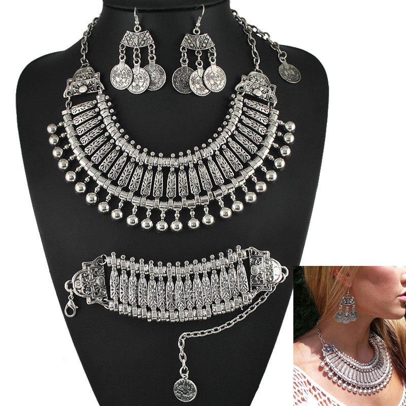 metal express zax chunky image necklace product collections products flower necklaces