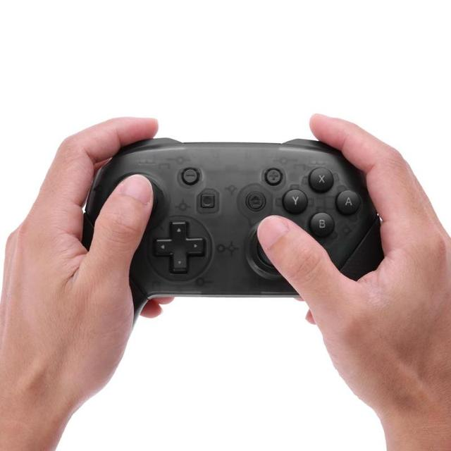 ALLOYSEED Wireless Bluetooth Gamepad Game Joystick Controller with Somatosensory Vibration Screenshot Axis for NS Nintend Switch