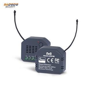 Image 1 - Z גל האיחוד האירופי 868.42MHz אור דימר מודול מתג MCO בית MH P220 לבית חכם שליטה