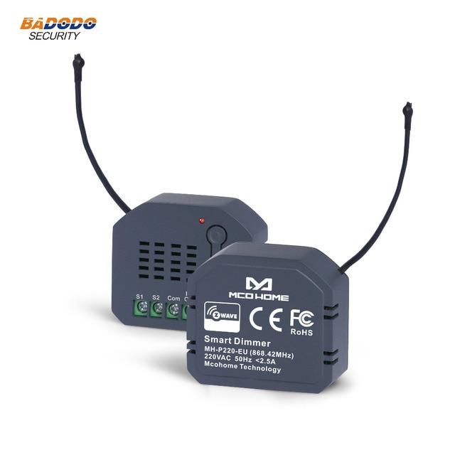 Z גל האיחוד האירופי 868.42MHz אור דימר מודול מתג MCO בית MH P220 לבית חכם שליטה