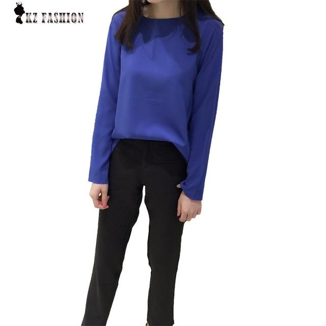 New Fashion  Summer Autumn Women's Clothing Chiffon Iregular Top+ Crop pants Suit Loose two piece suit plus size S508