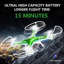 Vente chaude RC Drones Avec Caméra Hd 1100 mah Batterie Télécommande Quadcopter Vol Caméra Hélicoptère D'anniversaire Cadeaux De Noël