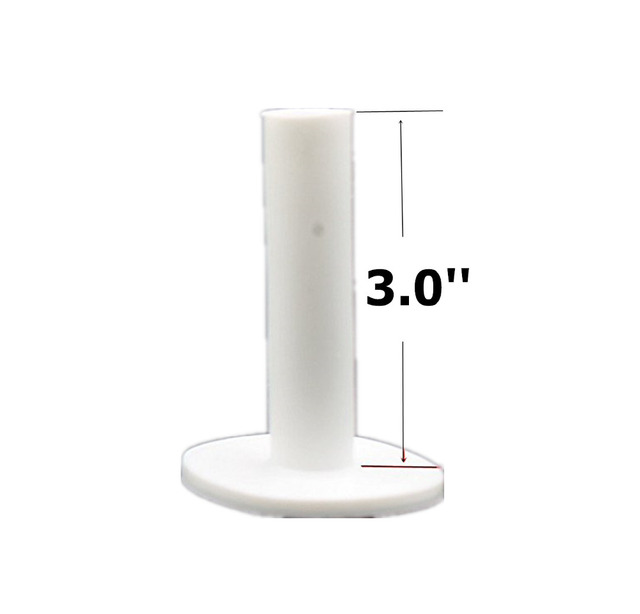 Finger Ten Golf Rubber Tee 5 Different Size Pack Driving Range Tees Holders 1.5'' 2.25'' 2.75'' 3.0'' 3.13'' inch Rubber Tee 4