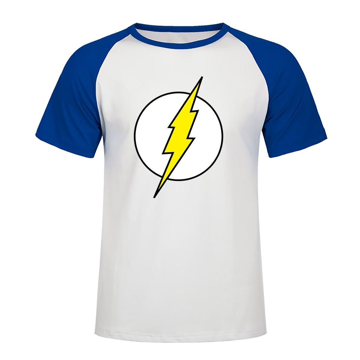 The BIG BANG Theory T SHIRT The Flash Print Men T Shirts Hot Selling Casual Harajuku Tee Shirt S XXL Cotton Clothing Dropship in T Shirts from Men 39 s Clothing