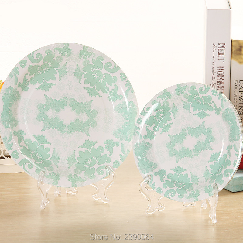 Aliexpress Buy Tiffany Blue Party Paper Tableware Products 20