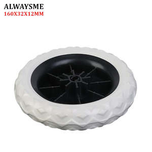 ALWAYSME Replacement-Parts Stroller-Wheels Wheels-Diameter Baby 1PCS 160mm-Width 32mm-Hole-12mm