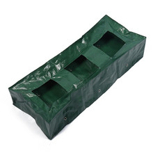 3 Grid PE Growing Tomatoes Planter Pouch Rectangular Floor Tomato Planting Bag Outdoor Garden Vegetable Planting Grow Bags