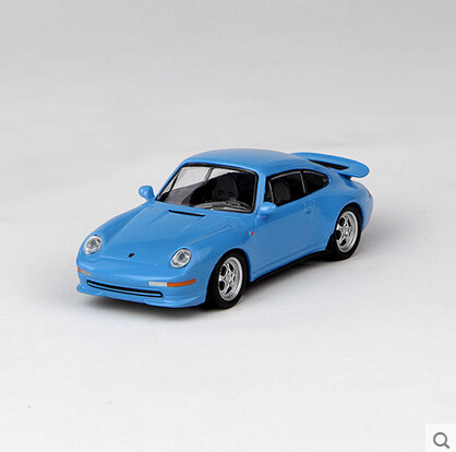 Kyosho 1:64 911RS (993) Blue Die-casts Collectable Supper Mannequin Automobile