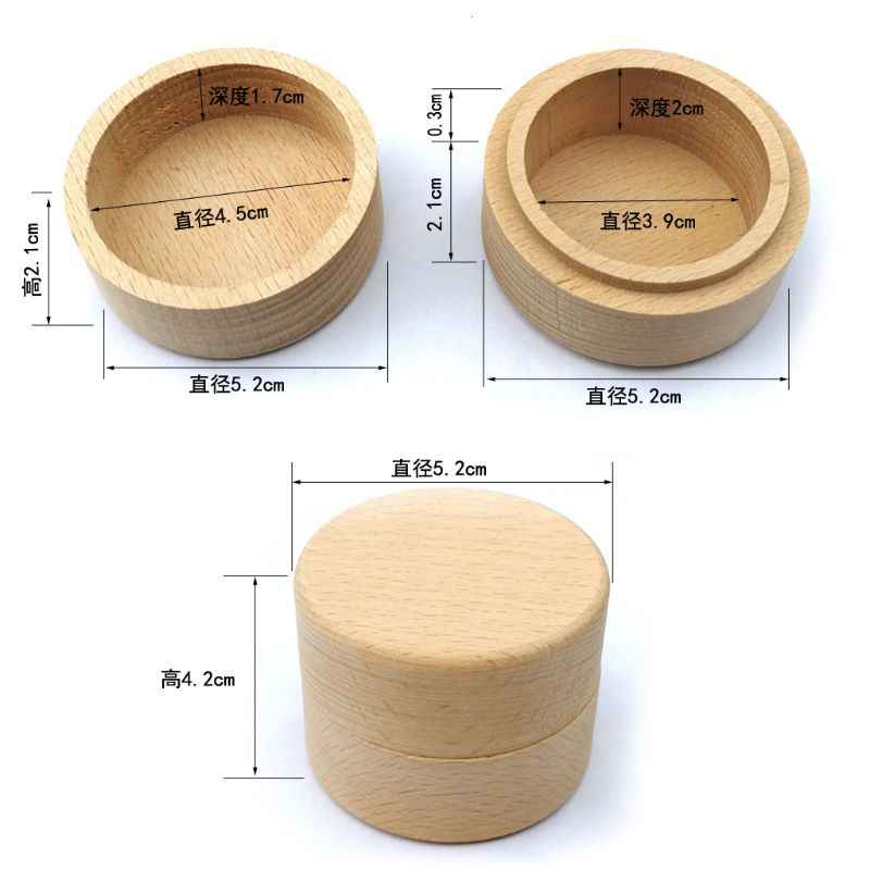 Персонализированные деревенские Свадебные деревянная коробочка для кольца ювелирные изделия брелок для хранения Контейнер держатель на заказ навсегда кольца носителя