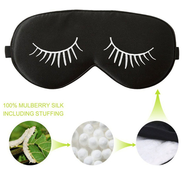 Embroidered Eye Mask, Sleep, Sleeping, Cute Sleep Mask, Kids or Adults,