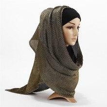 High-end hijab scarfs bright silk head scarf solid color women high quality fashion 2019