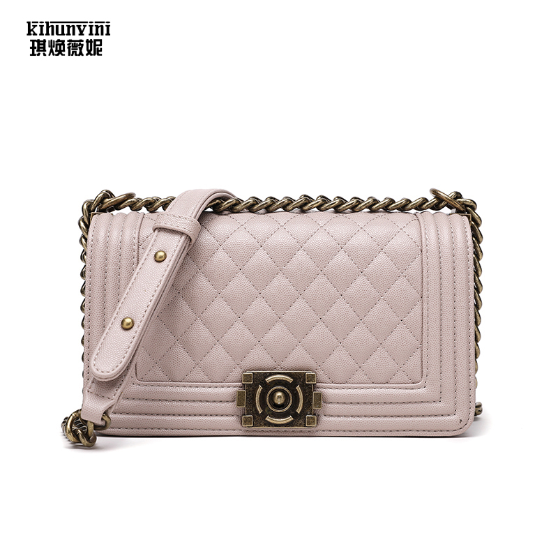 Women Bags Diamond Lattice Pu Leather Shoulder Crossbody Bags for Ladies High Quality Vintage Brand Designer Girl Cross Body Bag цена