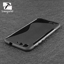 Taoyunxi смартфон Чехлы для ZTE лезвие X7 V6 D6 Axon 7 mini zmax 2 Z955L Z958 Z Max 2 ZMAX2 Чехол Сумки резиновые силиконовый чехол