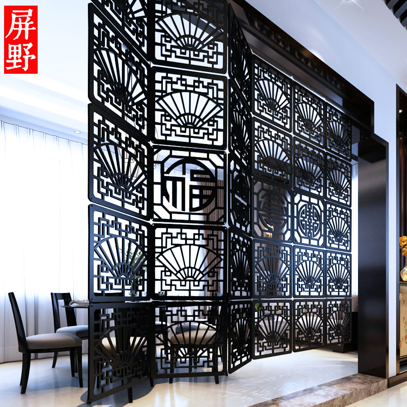 Entranceway colgante tallado en madera recorte Tallados divisor ...